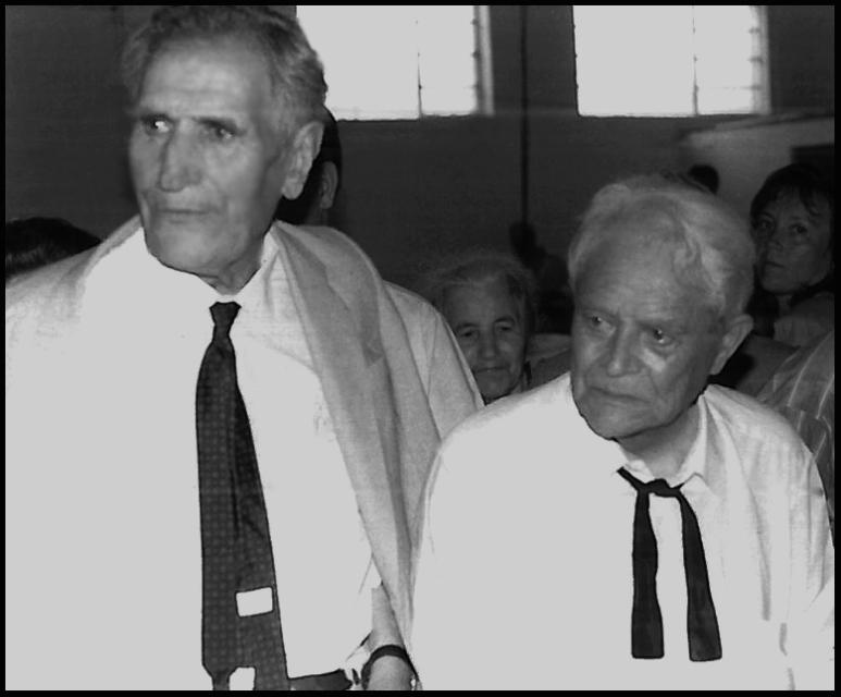 Miguel Torga e Fernando Valle©Paulo Abrantes