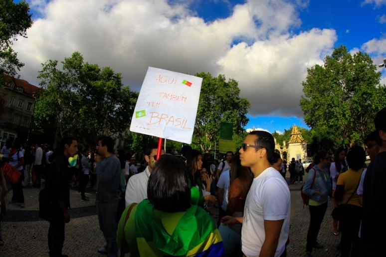 Manifestação Estudantes Brasileiros©Paulo Abrantes-24